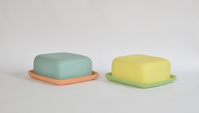 Adele Stanley Butter Dishes