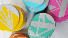 ail+el coasters €6 each or €24 for set of four