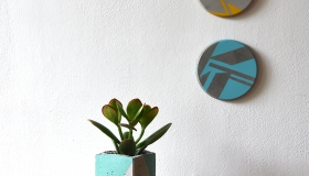 ail+el planters and coasters