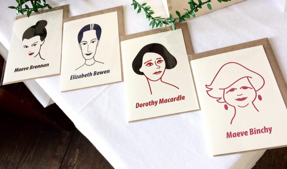 New Irish Women Writers Cards by At it Again!