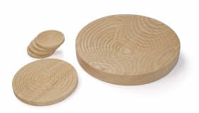 Spun Set Bowl, Trivet, Coasters - Coolree Design