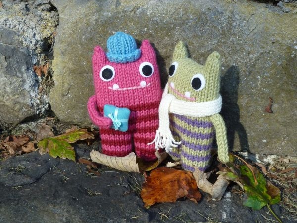 Gift Beastie and Cosy Scarf Beastie