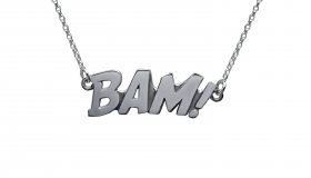 Edge_Only - BAM Letters Necklace Large €175.00