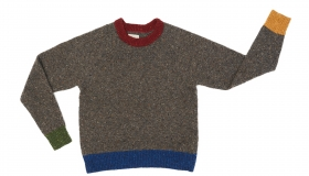 Liadain_Aiken_Eileen Jumper in Dark Grey_Merino_Wool