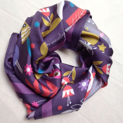 %22IN THE SEVEN WOODS%22 SCARF 2