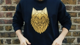 1 geometric black wolf sweater by stencilize 2 (2)