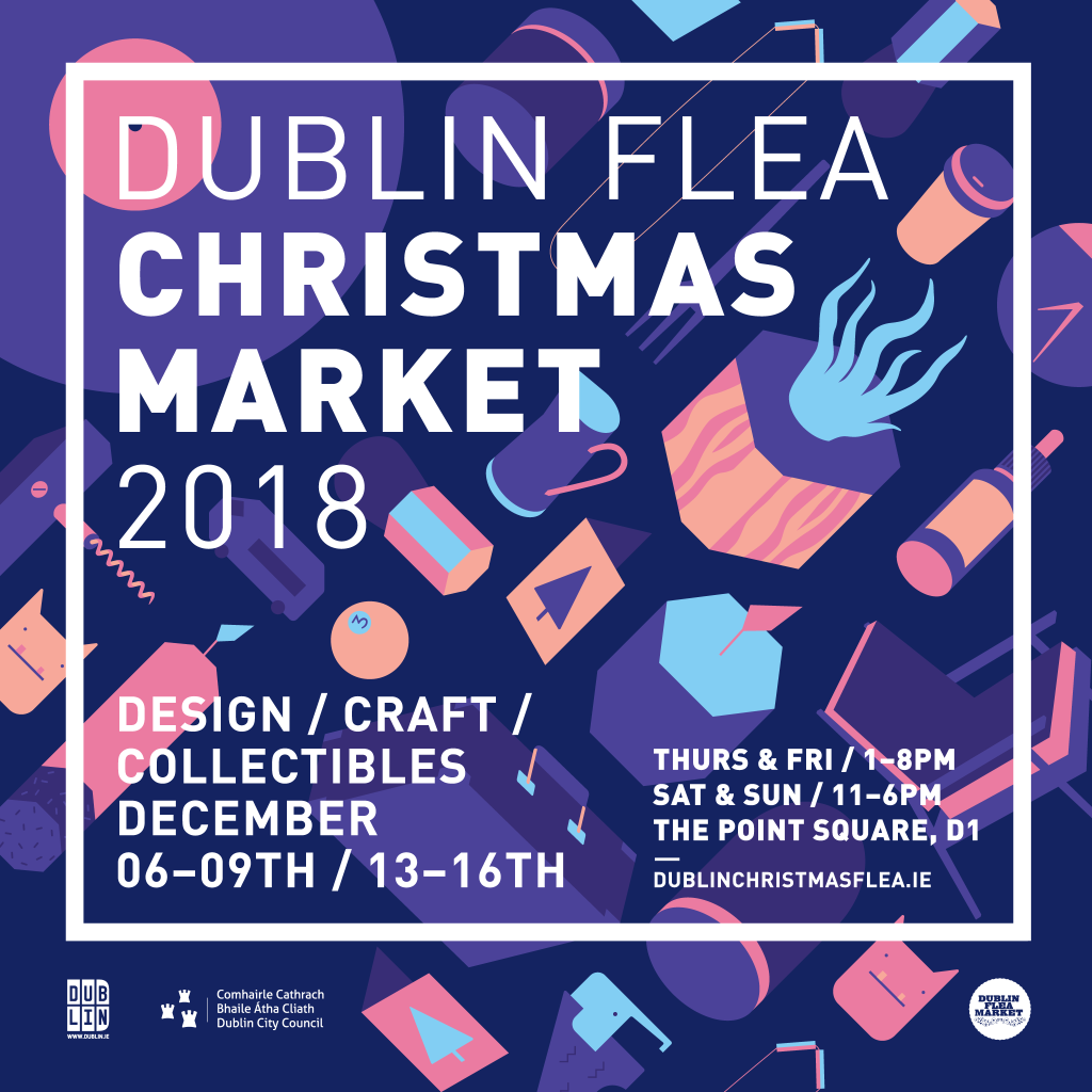 Dublin Flea Christmas Market 2018 – FacebookFeed-Sq