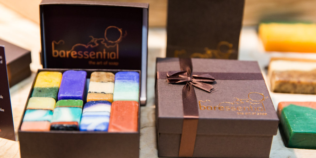 baressential soaps at the Dublin Flea Christmas Market