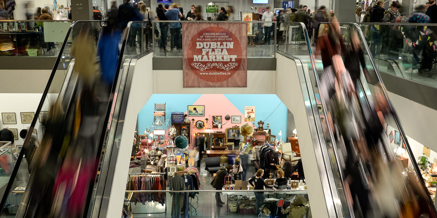 Dublin Flea Christmas Market at the Point Square December 2017