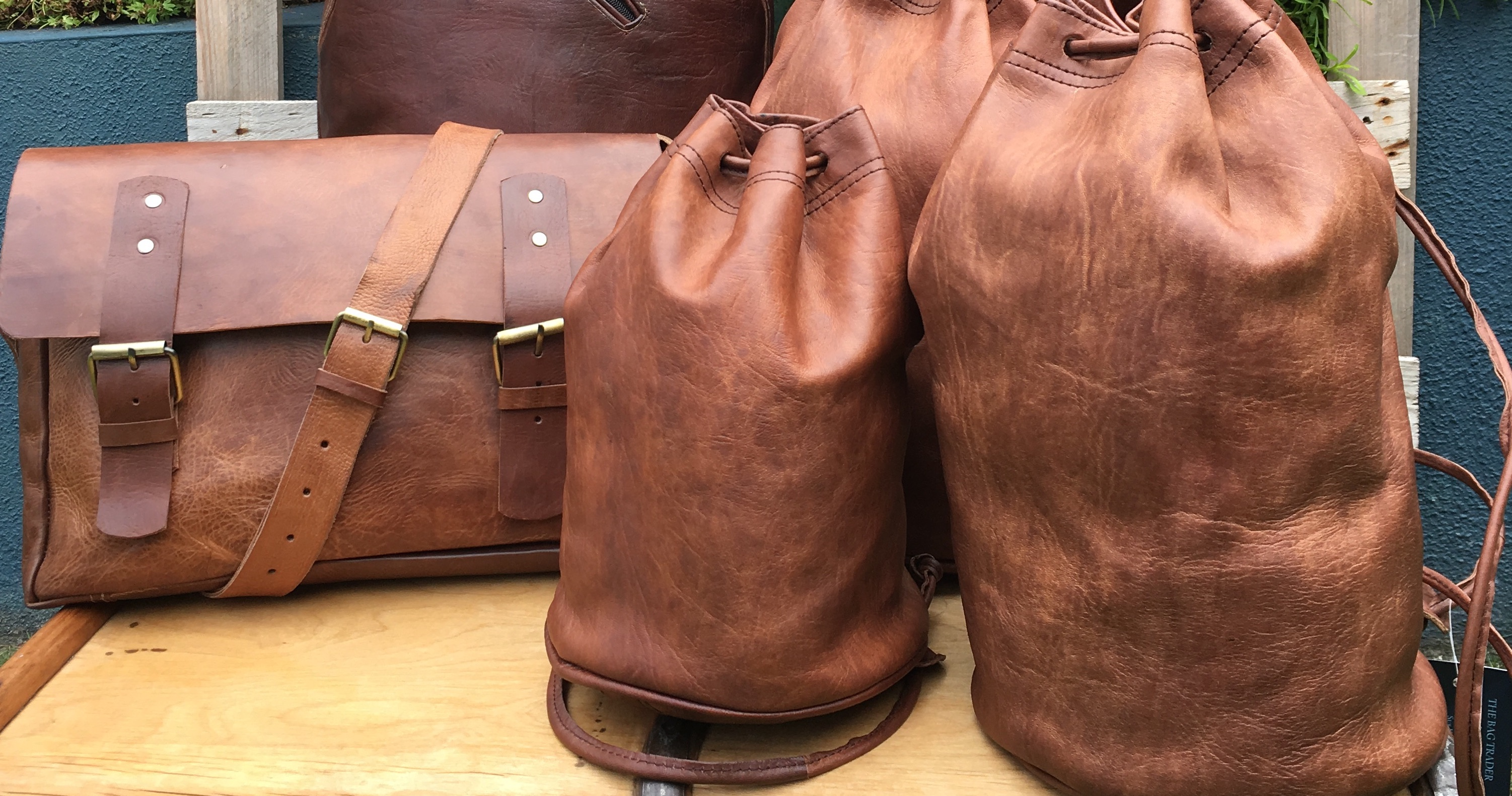 The Bag Trader stall Dublin Flea Christmas Market 2018 wk2JPG