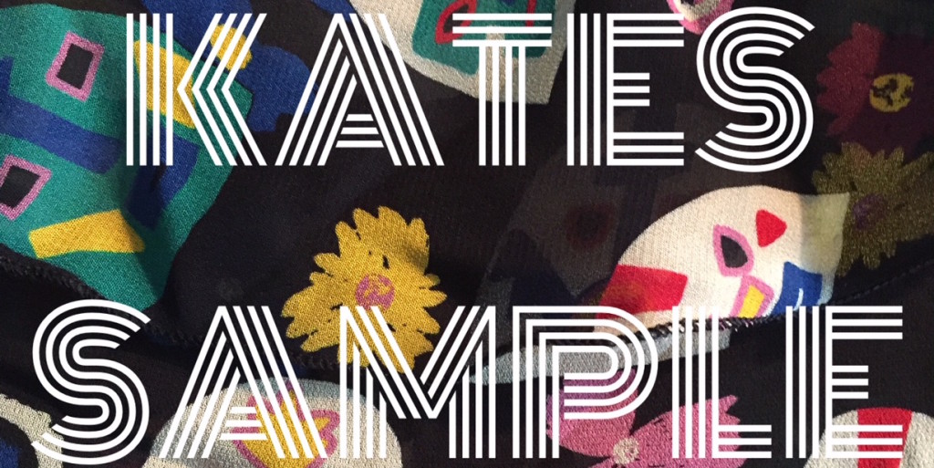 Kates Sample Sale at the Dublin Flea Christmas MArket