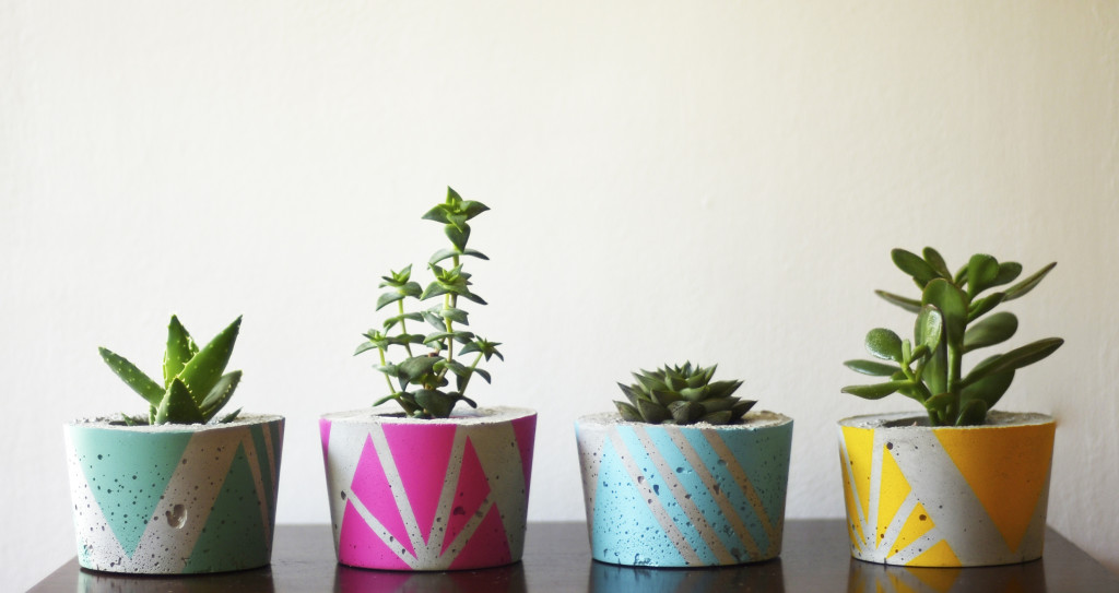 Ail + El – concrete planters & accessories