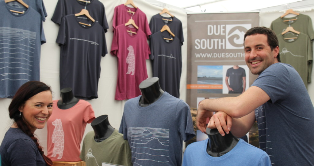 Due South stall Dublin Flea Christmas Market 2018 wk2