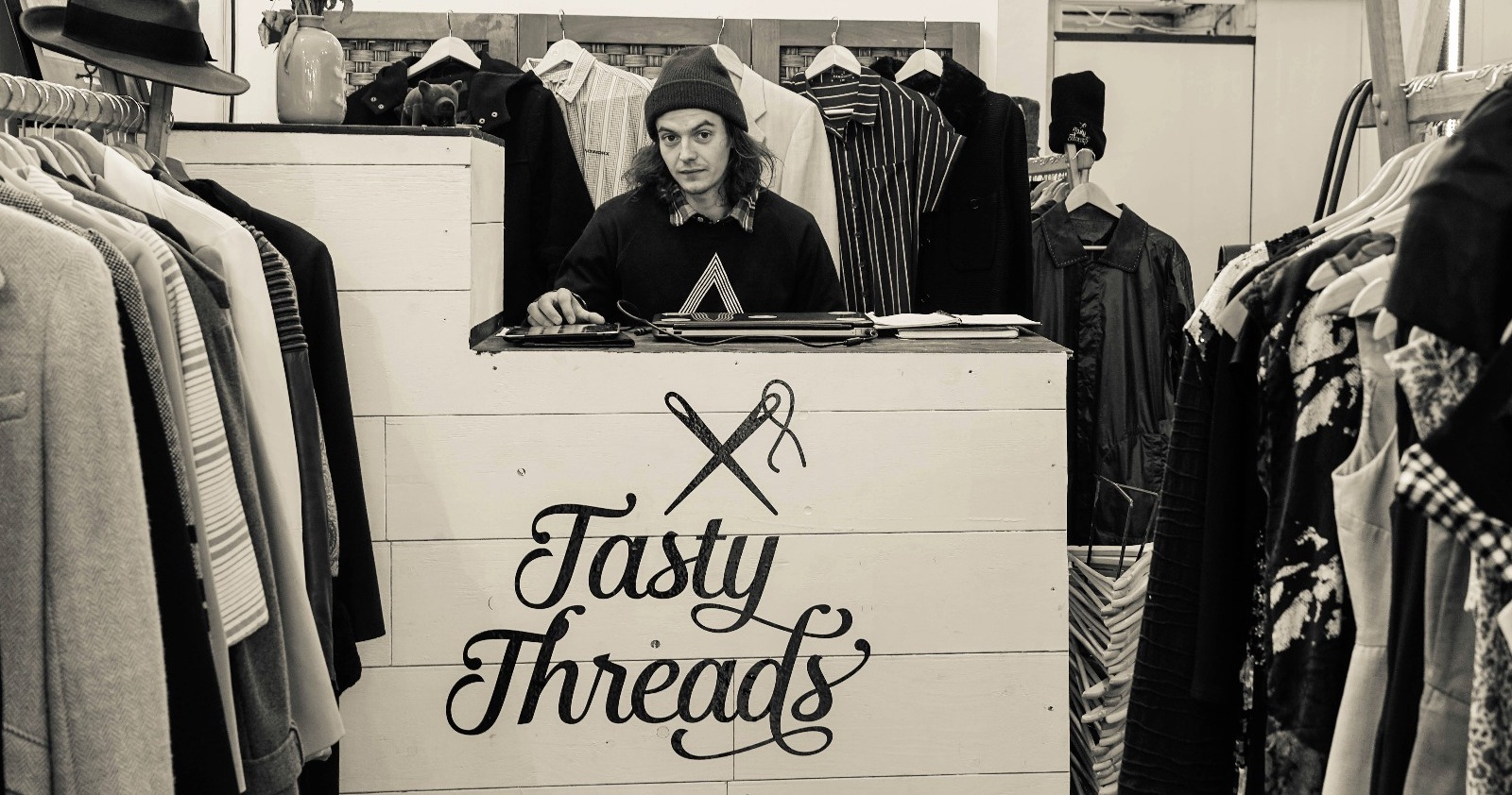 TastyThreads at the Dublin Flea Christmas Market 2018